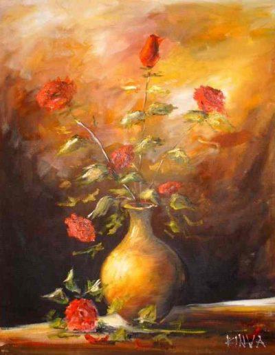 Rózsás csendélet