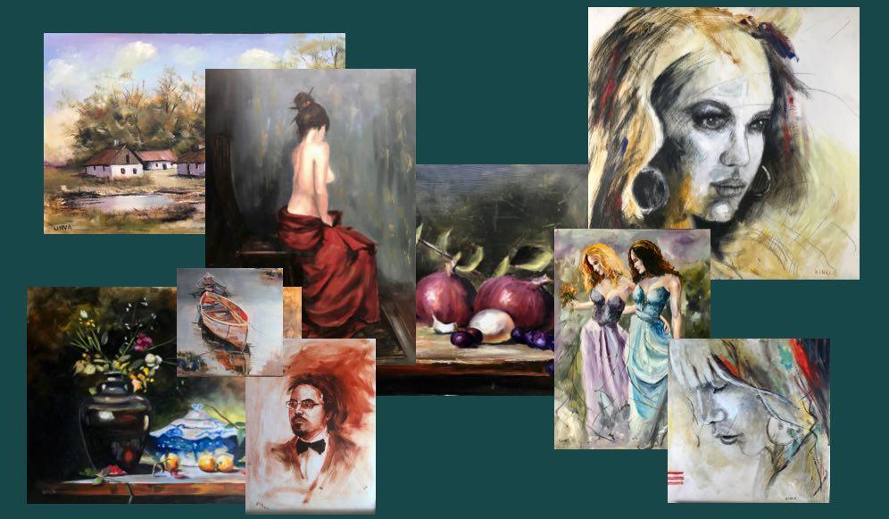Karácsonyi festmény özön a KINVA Festménygalériában